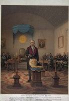 George Washington as Master Mason