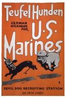 Teufel Hunden, The German name for Mariines