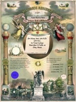 Personalized Prince Hall PHA  Record