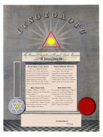 Personalized Royal Arch Certificate
