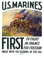 US Marines First in France